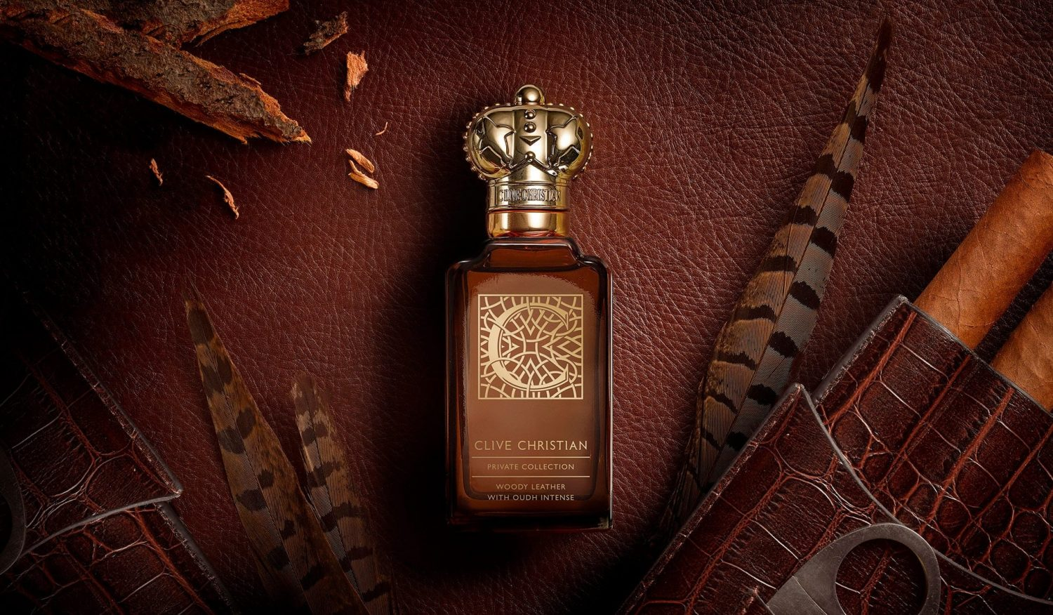 C Woody Leather | Perfume Story | Clive Christian® UK