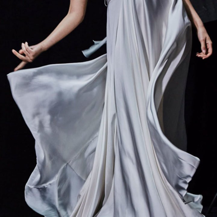 A dancer with a white dress has inspired the creation of Clive Christian