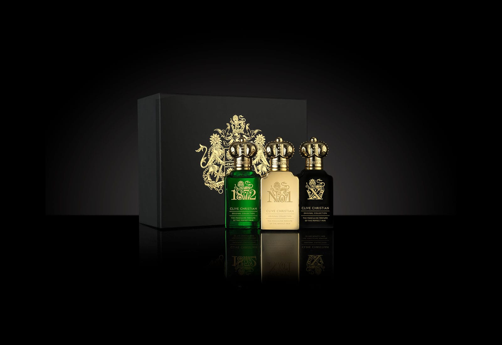 Original Collection Traveller Set Masculine Edition