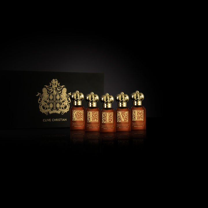 5 Bottles of Clive Christian's Woman's Private Collection.